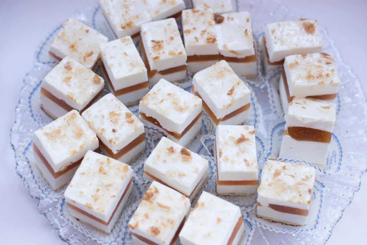 Dulces de queso y membrillo